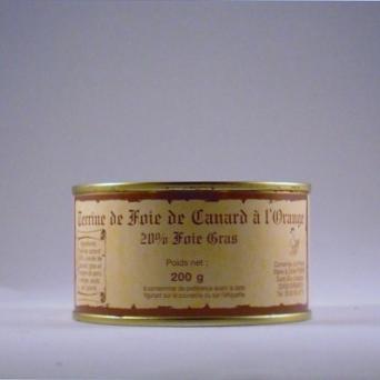 terrine de foie gras a l orange